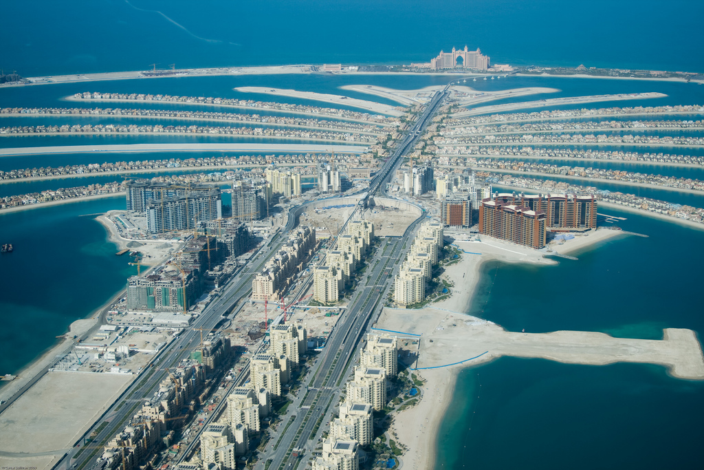 Jumeirah lusso e spiagge sulla costa di dubai for Pictures of the coolest things in the world